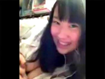 神カワイイJC美少女が本気のオナニーをスマホで撮影した動画がSNS流出しちゃったw
